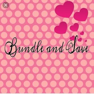 Other - Bundle, bundle, bundle and save, save, save!!